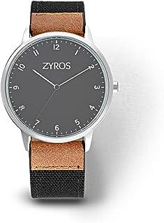 Zyros Dress Watch for Men, Quartz, Z9014M110202