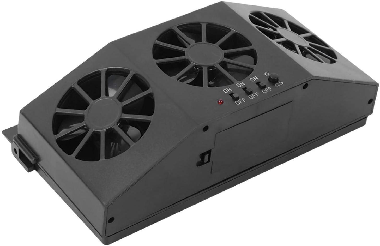 Car Ventilator sale Portable Max 66% OFF Solar Automobile Powered