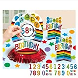 amscan Add Any Age Rainbow Table Decorating Kit
