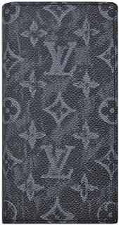 ルイヴィトン 財布 M80019 モノグラム・パステル ノワール キャンバス ポルトフォイユ・ブラザ NM LOUIS VUITTON メンズ ファスナー長札 16枚カード