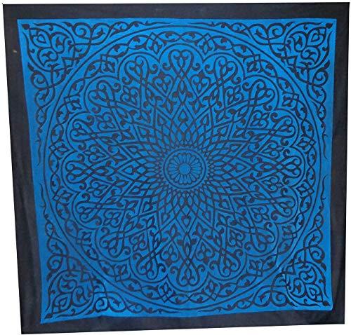 Orientalische traditionelle ägyptische arabische Tischdecke Wandbehang Samt geprägt Zelt Khayamiya Khayameya Khyamya handgefertigt Heimdekor Dekorative Dekoration Eid Ramadan Bauchtanz