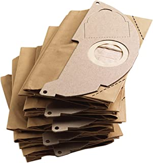 Kärcher 69043220, Wet and Dry Vacuum 5 x WD2 Paper Filter bags, Brown