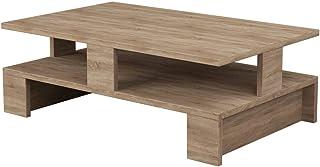 Toilinux in legno naturale Tavolino Mansu 80 cm