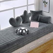 سجادة غرفة المعيشة الشمال غير زلة نافذة وسادة أريكة طاولة القهوة حصيرة غرفة النوم الأسرة شرفة، لون ثابت قابل للغسل، حجم قا...