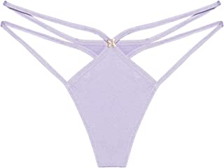 Savage X Fenty Women's Savage Not Sorry Low-Rise Strappy Thong