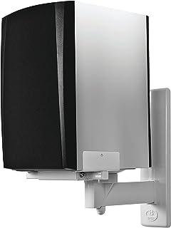 B-Tech - BT77 - Ultragrip ProTM wandhouder voor luidsprekers, kantel- en draaibaar, wit (paar)