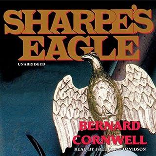 Sharpe's Eagle audiobook cover art
