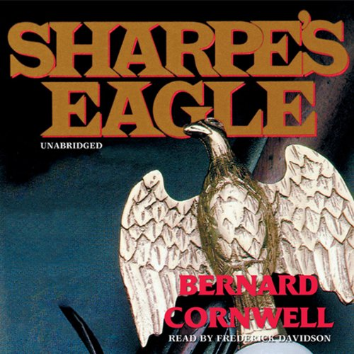 Sharpe's Eagle audiobook cover art
