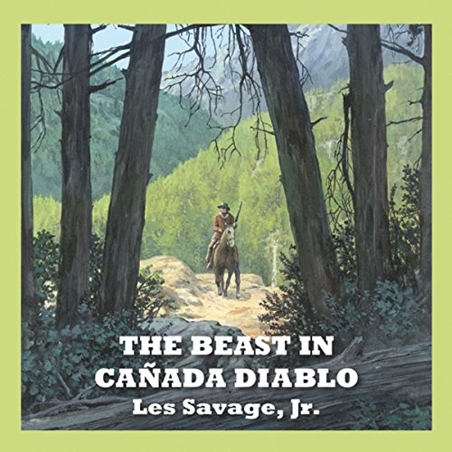 The Beast in Cañada Diablo audiobook cover art