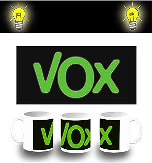 MERCHANDMANIA Gorra Logo Partido VOX Color Cap