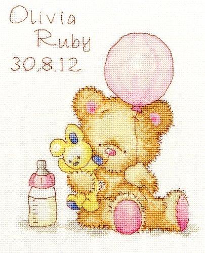 Bothy Threads Huggles Balón Sampler De Nacimiento Equipo