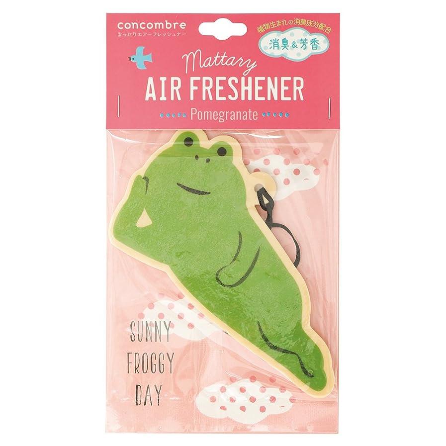 キャプチャー分布発疹concombre 芳香剤 まったりエアーフレッシュナー 吊り下げ 消臭成分配合 ざくろの香り OA-DKA-5-3