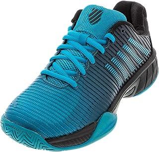 K-Swiss Junior Hypercourt Express 2 Tennis Shoe - Algiers Blue/Black - Size 6
