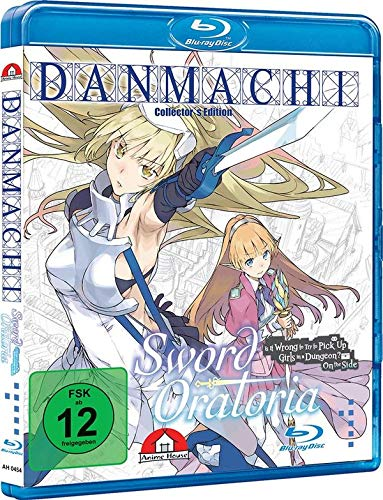 DanMachi - Is It Wrong to Try to Pick Up Girls in a Dungeon? - Sword Oratoria - Vol.1 - [Blu-ray] Limited Collector`s Edition