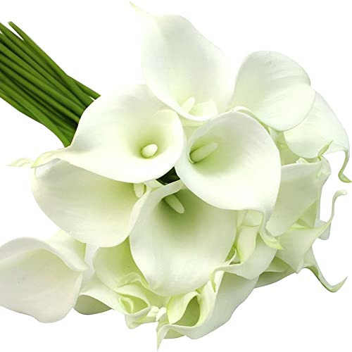 Latex calla lily favor flowers