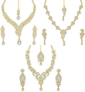 Sukkhi Jewellery Set for Women (Golden)(263CB1960)