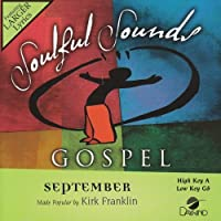 September [Accompaniment/Performance Track] by Made Popular By: Kirk Franklin