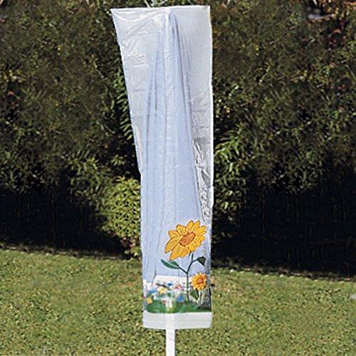 Abdeckhaube für den Sonnenschirm, Schutzhülle für Sonnenschirm Abdeckhaube Wetterschutz Gartenschirm Abdeckplane Garten draußen wetterfest