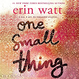 One Small Thing audiobook cover art