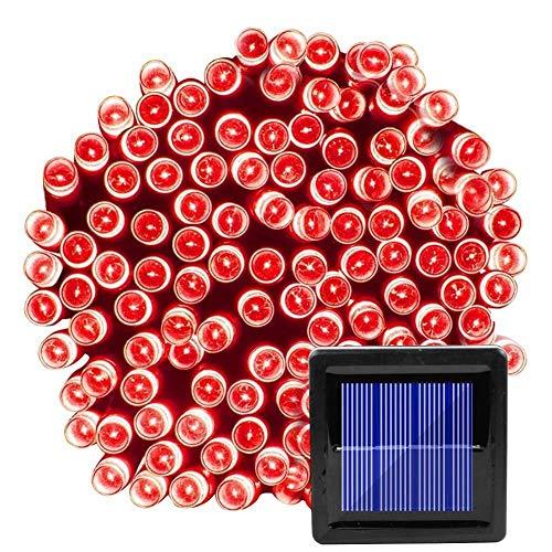 Salón de fiestas de boda 200 LED cadena luces for la decoración del jardín al aire libre solar de Navidad Garland Hada Luz Modo 3 22m Segura cómodo y duradero de la decoración de la lámpara