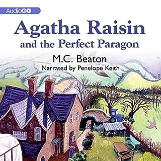 Agatha Raisin and the Perfect Paragon audiobook cover art