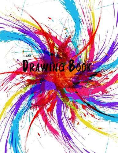 Blank Drawing Book: 150 Pages, 8.5  x 11  Large Sketchbook Journal White Paper (Blank Drawing Books)