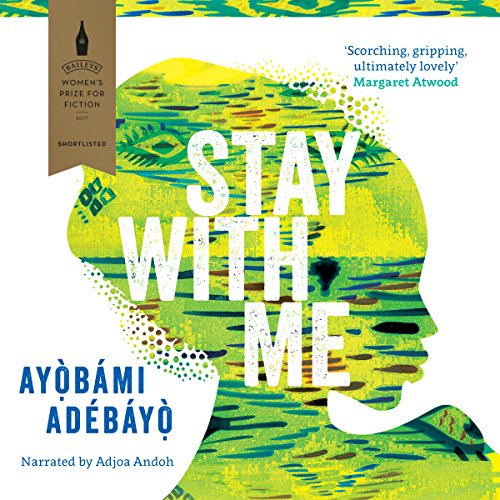 Stay with Me audiobook cover art