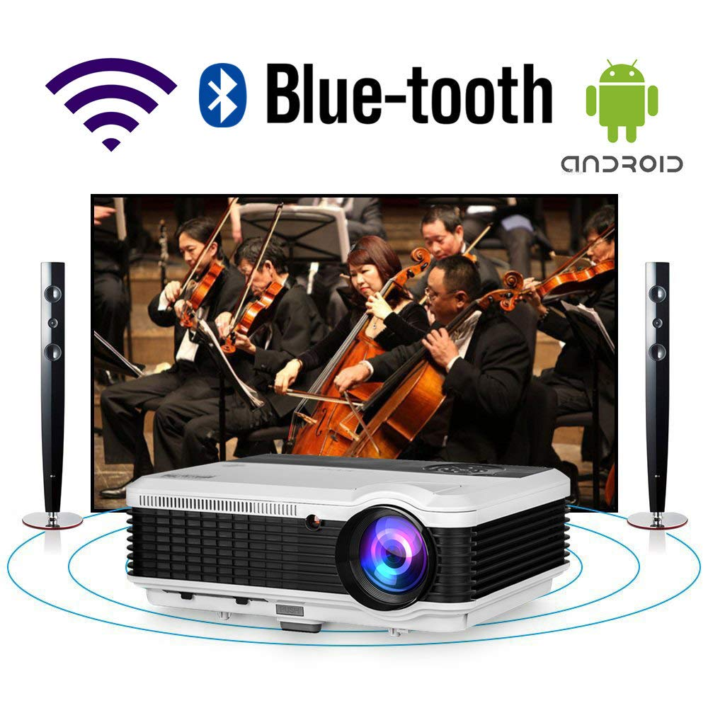 Bluetooth Projector Theater Wireless Projectors