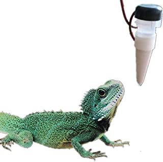 Leoie 1300ML Reptile Water Filter Drip System Drinking Fountain Water Dispenser Humidifier for Chameleon Lizard Gecko