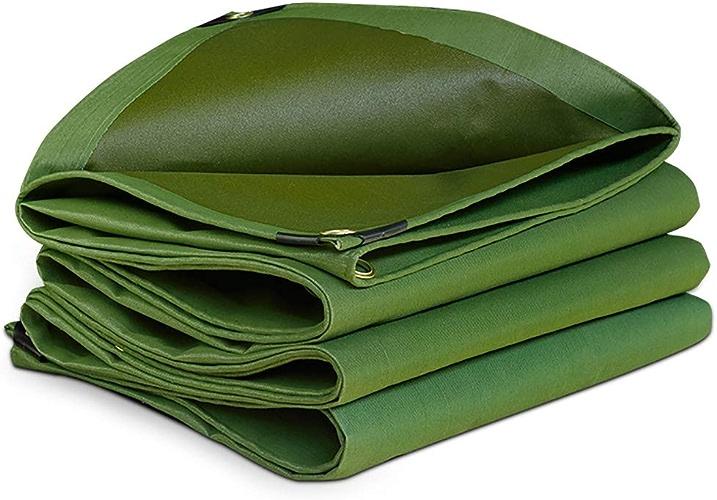 Qifengshop Bache épaissir imperméable Tissu d'ombrage extérieur Poncho de Balcon Couverture de Culture Abri de Voiture 600 g mètre carré Plusieurs Tailles
