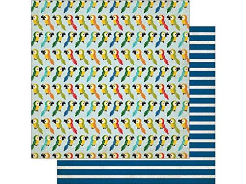 Echo Park Paper Company JF Echo Park Dschungel-Safari-Papier, 30,5 x 30,5 cm