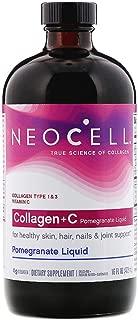 BioActive Hydrolyzed Collagen 4000 mg Type 1 & 3 + C Pomegranate Liquid Hair Skin Nails Joints Bones 16 fl oz 473 ml