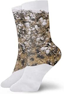 Calcetines 3D Abstract Artistic Art Printing Holiday Christmas Vector Unisex Sport Elite Socks Snow Leopard4