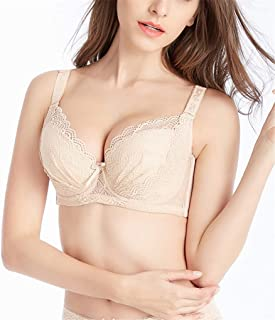 b6e86563e2 Women s Plus Size Lace Push-Up Bra Soft Cup Everyday Bra Minimizer Underwire  Bra