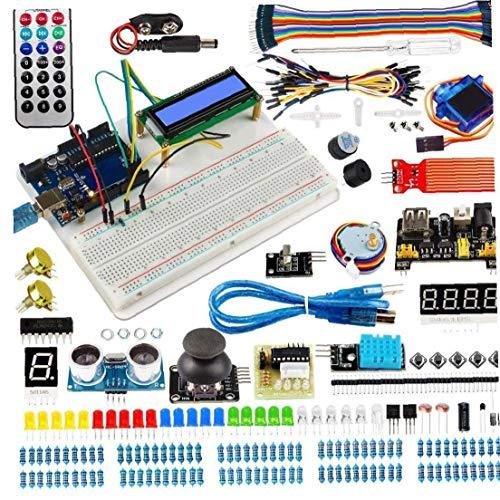 KHHGTYFYTFTY Starter Kit mit Development Board für Elektrotechnische Projekte Solderless Brotschneidebrett