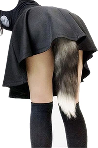 Girl With Tail Butt Plug