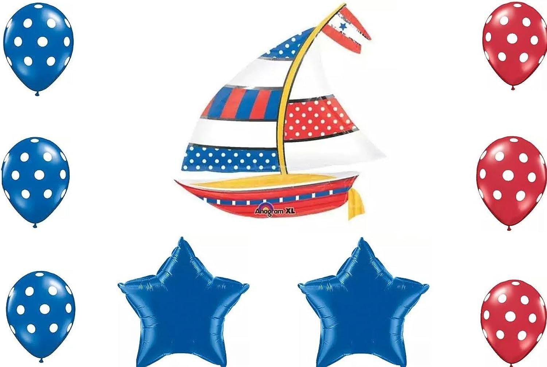 tomamos a los clientes como nuestro dios Nautical Nautical Nautical Sailboat Party Balloon Decoration by Nautical Party Supplies  Envío y cambio gratis.
