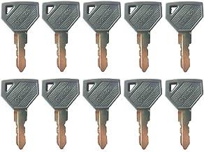 YQI 5PCS 301 933110-00301 AT110583 Key for Yanmar B14 B17-2 B22-2 SV08-1 SV100 SV08-1 SV100 John Deere 15 25 30 50 Excavator