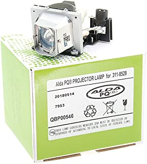 M409MX M409X 725-10112 f/ür DELL M209X M410X Projektoren M210X Alda PQ/® Lampenmodul mit Geh/äuse Beamerlampe 311-8529 M409WX M410HD