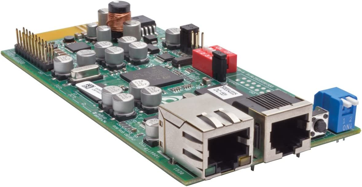 Tripp Lite SNMP/Java-Free Web Management Accessory Card for Compatible Tripp Lite UPS Systems (TLNETCARD)