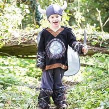Kids - Disfraz de guerrero vikingo para niño, talla 3-5 años
