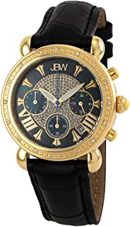 JBW Luxury Women's Victory 16 Diamonds Mother of Pearl Chronograph Watch - JB-6210L-F