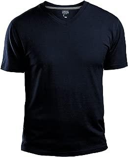 GAP Men's V Neck Cotton T Shirt Everyday Quotidien Solid Color