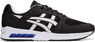 ASICSTIGER Men's Gel-SAGA SOU Running Shoes, Black/White, 4.5 M US