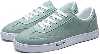AUCDK Men Casual Plate Shoes Men Canvas Sports Shoes Breathable Trainers Men Summer Sneakers