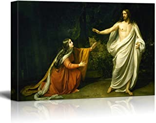 wall26 - Christ's Appearance to Mary Magdalene After The Resurrection by Alexander Ivanov - Canvas Print Wall Art Famous Painting Reproduction - 32
