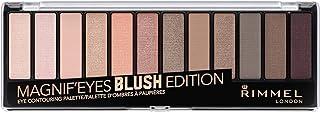 Rimmel London Magnif'Eyes 12 Pan Eyeshadow Palette, Blush 14g