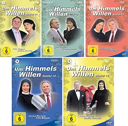 Um Himmels Willen - Staffeln 11-15 (22 DVDs)