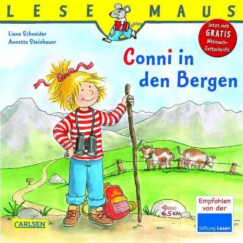 LESEMAUS. Band 132: Conni in den Bergen von Schneider. Liane (2010) Taschenbuch