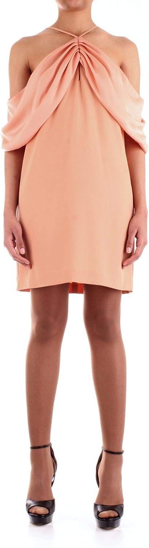 Annarita N Women's A557pink Pink Polyester Dress